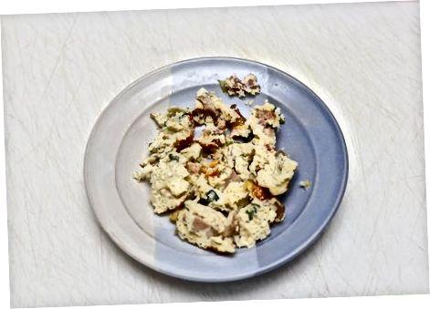 Кување надјева Бурритос за доручак