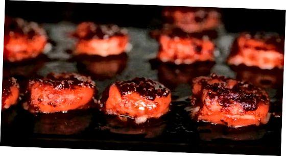 Vürtsikas küpsetatud krevetid