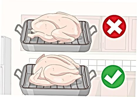 Odtaljevanje Turčije v pečici