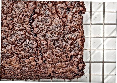烘烤基本巧克力布朗尼蛋糕