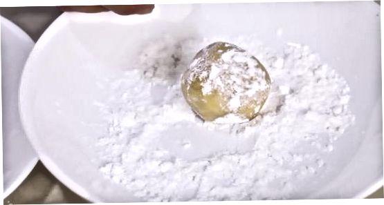 Kremede peanøttsmørboller