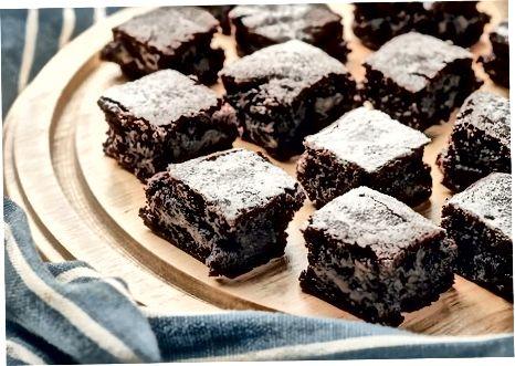 烤耐嚼巧克力布朗尼