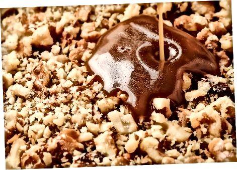 烤焦糖布朗尼蛋糕