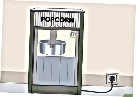 Professional Popcorn Warmers-dan foydalanish