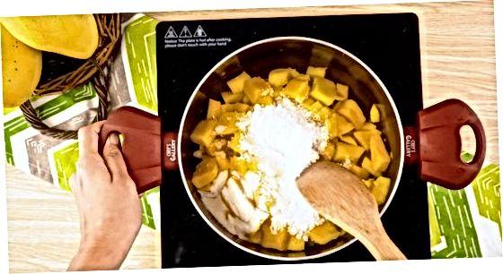 Kuhanje osnovnega džema manga