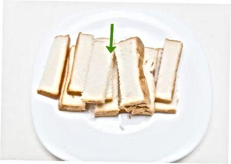 制作法式吐司面包