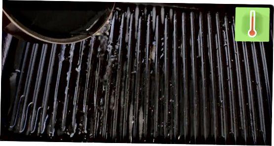 Pranje ponve iz litega železa