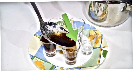 Fazendo gelatina usando cola