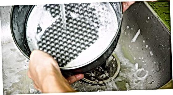 Rezanje po pečenih mesih z oksalno kislino