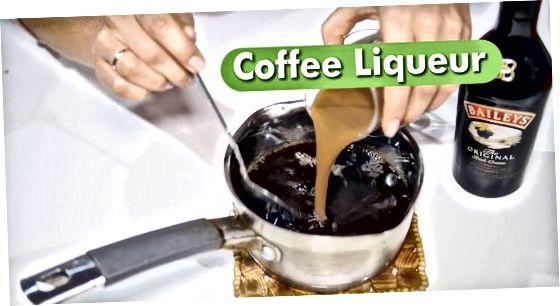 Fazendo gelatina usando café