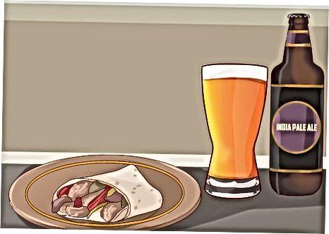 Alaus ir maisto produktų, kurie papildo vienas kitą, poros sudarymas