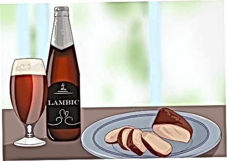 Taomni qizg'in lazzatlarni kamaytiradigan pivo bilan juftlashtirish