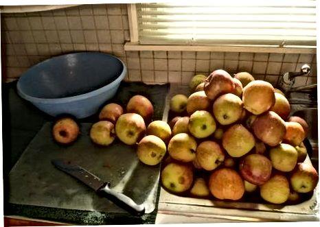 Припремите јабуке