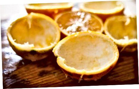 Klargjør appelsinene