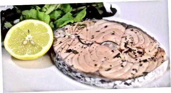 Пинот Ноир лосос са биљем