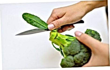 Boshlashdan oldin: Brokkolini tayyorlash