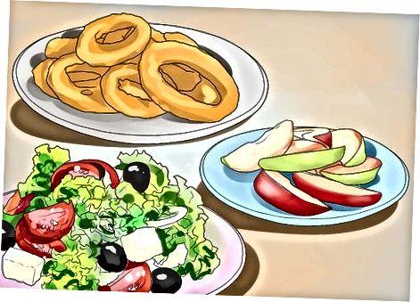 Zgjedhja e faqeve më të shëndetshme të ushqimit të shpejtë