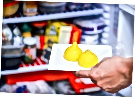 Kesilgan limonlarni saqlash
