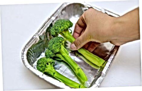 Broccolini backen oder rösten
