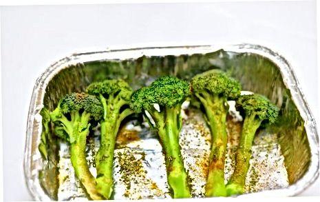 Brokkolini pishirish yoki qovurish