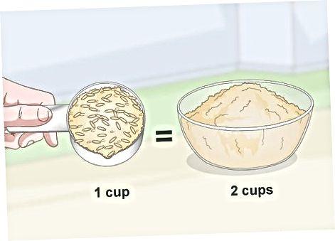 Naudojant grūdų malūną