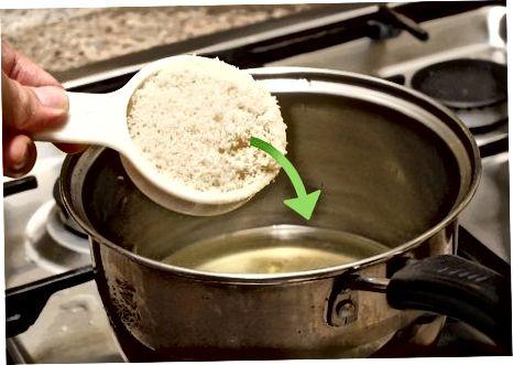 De schil koken