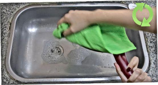 Pranje in sušenje vašega ponve