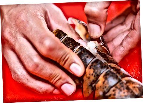 Різання омару