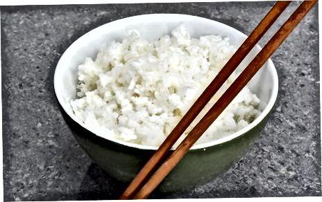 Sofortigen weißen Reis auf dem Herd machen
