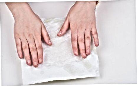 Popierinio rankšluosčio naudojimas