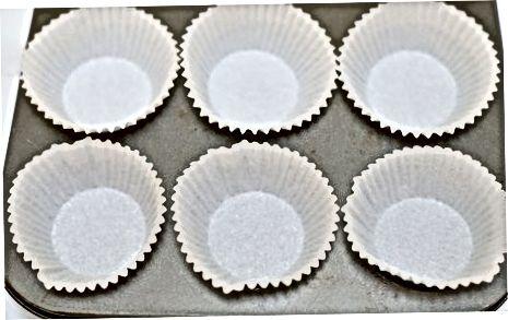 Küpsetatud vadakuvalgupulber mustikamuffinid