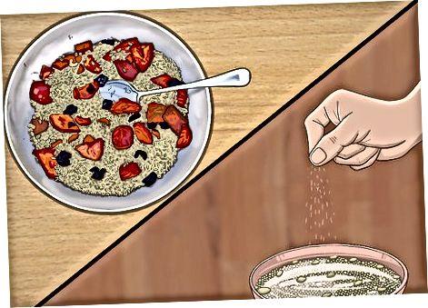 Добавление цельного зерна в ваши любимые салаты