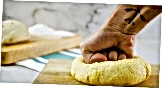تکمیل دستور العمل خمیر نان