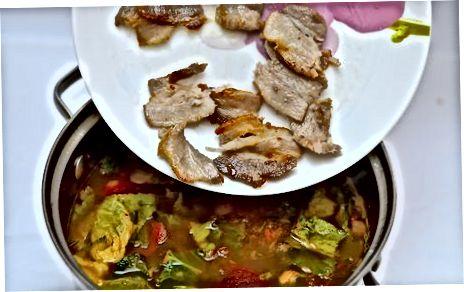 Gourmet Escarole und Bohnensuppe machen