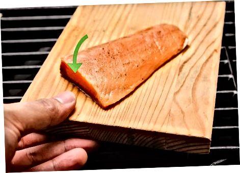 Salmon dërrasë kedri