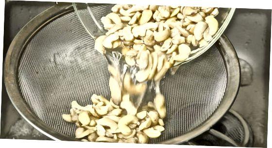 Gemengde cashewmelk maken