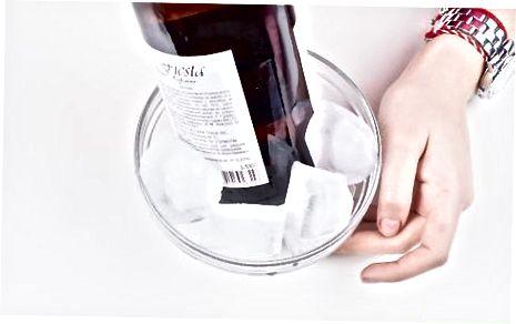 Хлађење и чување остатка шампањца