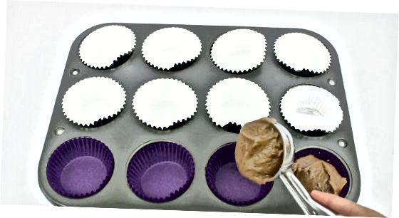 ვანილის ან შოკოლადის თასების დამზადება