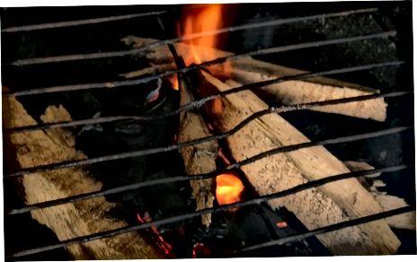 Gatim Bletë Biftekun në skarë