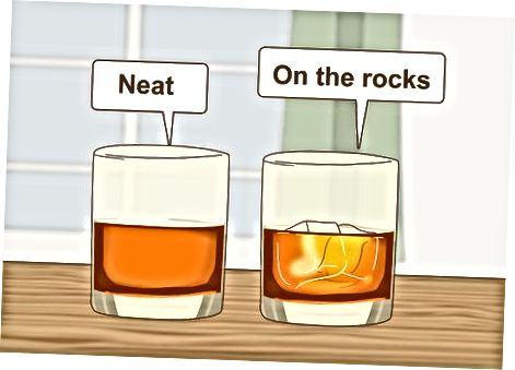 Naročanje in pitje viskija