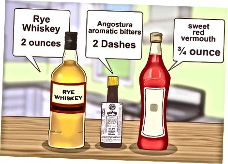 Mešanje viskija z drugimi sestavinami