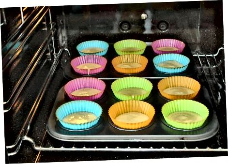 De cupcakes maken