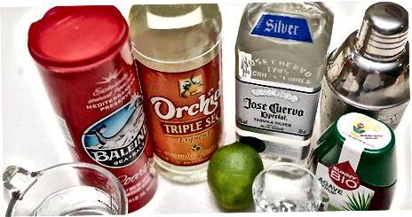 Oddiy 3 ta ingredientni tayyorlash Margarita