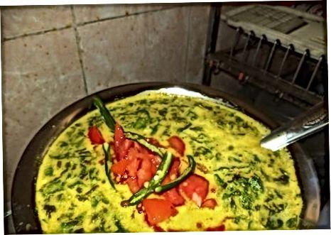 Andhra Mazziga Pulusu pishirish