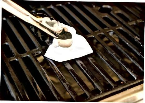 De grill voorbereiden