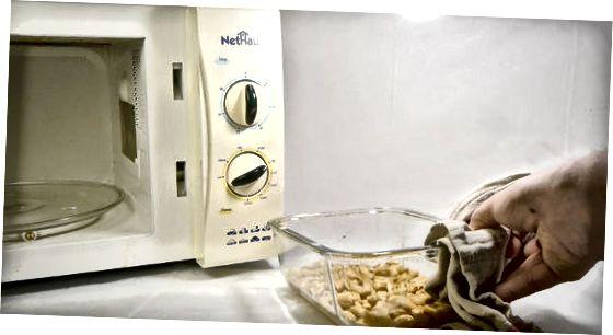 Прављење обичних печених кикирикија