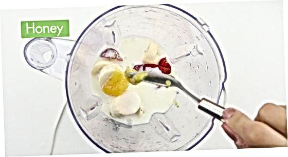 Yogurtga asoslangan Smoothie qilish