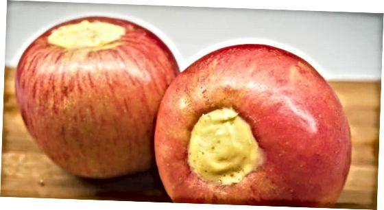 Förbereda äpplen