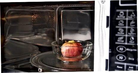 Bakning äpplen