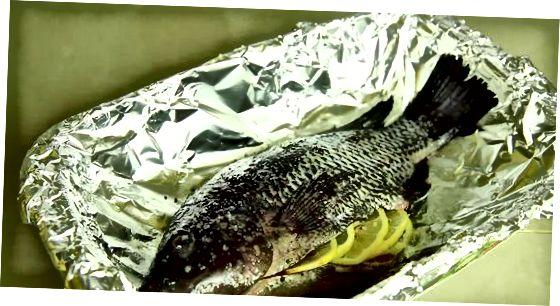 Terve küpsetatud kala